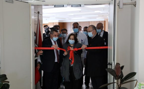 Opening of a New Department for Corona Patients at The Istishari Arab Hospital